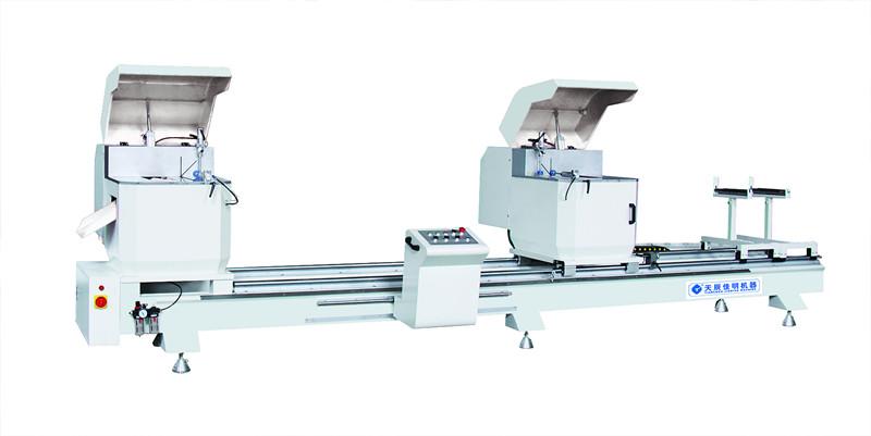 铝型材深加工设备 重型双头精密切割锯  工业铝材设备专用